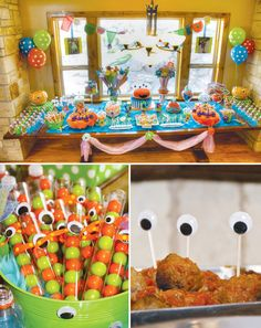 monster+themed+birthday+party | So Cute It's Scary: Monster Themed Birthday Party