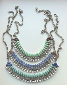 f6c467e38d81 crystals Rhinestone Necklace, Crystal Necklace, Chain Necklaces, Turquoise  Necklace, Statement Necklaces,