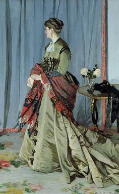 Portrait of Madame Louis Joachim Gaudibert Painting  - Portrait of Madame Louis Joachim Gaudibert Fine Art Print