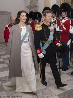From Swimsuit to Regal Sash! Crown Princess Mary Gets Back to Royal Duty in Denmark Mary Donaldson, Style Royal, Princess Marie Of Denmark, Danish Royalty, Mary I, Danish Royal Family, Royal Engagement, White Gowns, Crown Princess Mary