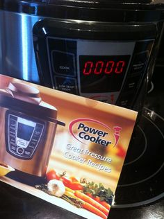 Experimenting with an Electric Pressure Cooker - Frugal Upstate Electronic Pressure Cooker, Digital Pressure Cooker, Slow Cooker Pressure Cooker, Using A Pressure Cooker, Instant Pot Pressure Cooker, Pressure Canning, Power Cooker Xl, Power Cooker Recipes, Pressure Cooking Recipes