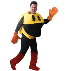 [HALLOWEEN] Deluxe Adult Pac Man Costume - $56.10 with FREE SHIPING WORLDWIDE! 2 DAYS for ALL USA DELIVERY!!! visit our site ->>> http://HALLOWEEN-CLOTHES.CF