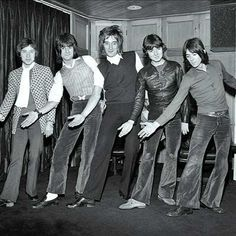 Rod Stewart and - The Small Faces, which Stewart left in 1975 because it seemed that band mate, Ron Wood was on permanant loan to - The Rolling Stones.