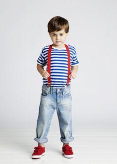Suspenders: red!