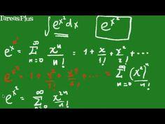 Integral mediante serie de potencias de e a la x al cuadrado