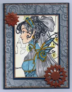 Metal Mama by SodakStamper - Cards and Paper Crafts at Splitcoaststampers