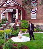 Weddings at an old schoolhouse, now a Bed and Breakfast located in Coeur d' Alene, Idaho.