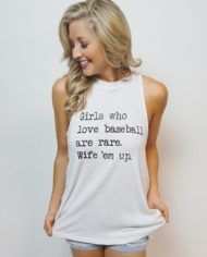 baseball wife 'em up mock tank