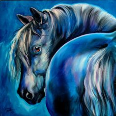 """Blue Moon"" par Marcia Baldwin"