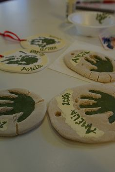 Preserve childhood forever! Use the recipe to make Christmas tree ornaments to give as gifts to aunts, uncles and grandparents. Handprint ornaments make great gifts for grandparents. Shape the dough into a …