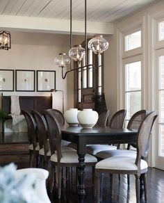 As I put the finishing touches on Villa Noir, I can't help but draw inspiration from some of my most favorite dining rooms. When I first had the vision for Villa Noir, I immediately was led back to one of my all time favorite designers Lenny Kravitz. His Parisian designs have always been the most de