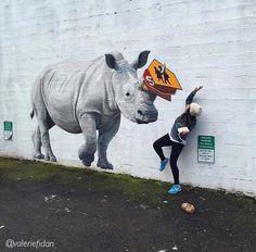 Street Art by Josh Keyes