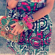boho, aztec, hippie, folk, boho, dress, bag, detail, fashion, style, look, outfit. Viviana Volpicella.