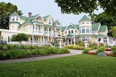 Brigadoon Bed and Breakfast in Mackinaw City.  Great place to stay.  Beautiful rooms, delicious food.