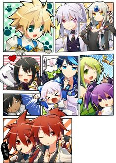 Chung and Add and Elsword and Ciel and Raven is so cute >////<