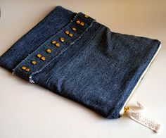 Favourite Things: Denim Fold-Over Clutch Tutorial