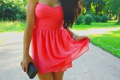 Red dress (: