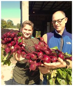 Delicious beets from Karma Farm in Monkton. Oh, don't you just love them?