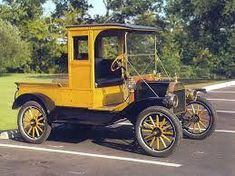 5f2ec8c733 Truck - 1913 Ford Model T Closed Cab Pick up truck.