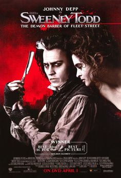 CAST: Johnny Depp, Helena Bonham Carter, Alan Rickman, Sacha Baron Cohen, Jayne Wisener; DIRECTED BY: Tim Burton; Features: - 27\