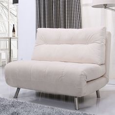 Enjoy the combined benefits of a plush chair and comfortable bed with this Tampa convertible big chair bed from Gold Sparrow. Perfect for use in limited spaces or as an extra bed for guests, this fold Sofa Cama Individual, Murphy Bed Ikea, Murphy Bed Plans, New Living Room, Living Room Chairs, Small Living, Living Area, Fold Out Chair, Fold Out Beds