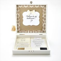 Shi  Uri | Traditional Bride bridesmaid box. A special personal way to ask you best girls to be apart of your big day! How will you make asking your girls special?