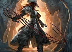 Inquisitor of the Spiked Chain, a Hamdreign Order that follows the Paragon of Vengence