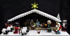 Lego Nativity. VERY COOL!