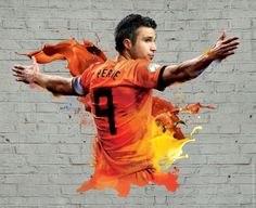 2014 FIFA World Cup Brazil Campaign-Players by Audrey YeeWE: Robin Van Persie