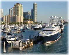 Yachts in Miami, Florida- http://www.luxuryyachtinsurance.com/
