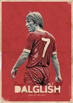 Kenny Dalglish, by Luke Barclay