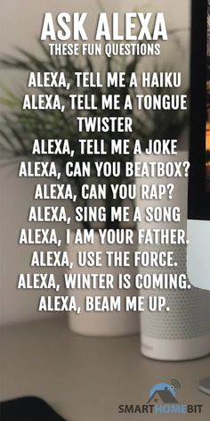 diy to do when bored Funny things to ask / do with Alexa Things To Do At A Sleepover, Fun Sleepover Ideas, Funny Alexa Commands, Alexa Tricks, Amazon Alexa Skills, Bored Jar, Things To Ask Siri, Funny Quotes, Funny Memes