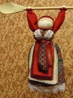 """Купить Народная кукла """"Хранительница домашнего очага"""" - кукла ручной работы…"""