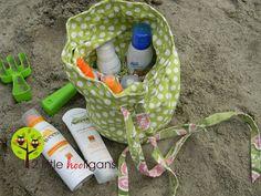 Fat Quarter Friday {The Beach Comber Bag Tutorial}