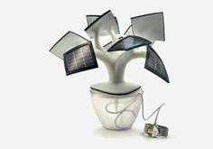 Bonsai solar (para cargar el móvil) Este aparato, que aún no se comercializa, está inspirado en los bonsais y en los fractales que podemos ...