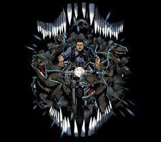 Jurassic World Chris Pratt Raptor Squad T-Shirt