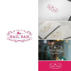 Create a modern, clean yet elegant and luxurious logo for our nail salon aria the nail bar! by Gemera