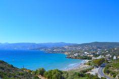 Almiros Beach on Agios Nikolaoksen suosituimpia rantoja.   #AgiosNikolaos #Aurinkomatkalla #Aurinkomatkat #Kreeta