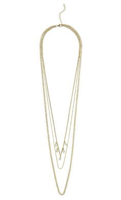 The Metropolis Layered Necklace   MARCIANO.com