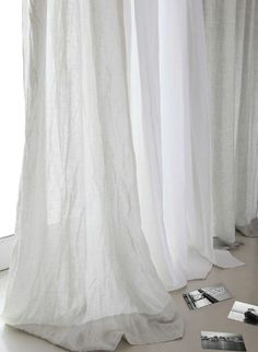 40 ideas bedroom design blue grey curtains for 2019 White Linen Curtains, Cute Curtains, Drop Cloth Curtains, Rustic Curtains, Colorful Curtains, Curtains With Blinds, Farmhouse Curtains, Sheer Curtains, Roman Curtains