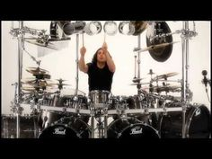 Dream Theater drummer Mike Mangini   PURE Awesomeness!!