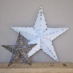 Barn Star XL, Blanche - Le Repère des Belettes