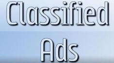 Classified ads are an amazing platform to build brand image among your customers. A well written and designed ad can entice a customer for an action and can eventually result into sales. http://fleewe.com/