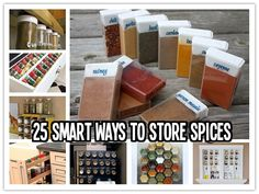 25 smart ways to organize and store herbs and spices, How to, how to do, diy instructions, crafts, do it yourself, diy website, art project ideas