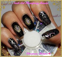 Nail Art Stamping Mania: Born Pretty Store - Nail decorations 3D And Rhinestones Nail Tutorial and Review  http://nailartstampingmania.blogspot.it/2014/11/born-pretty-store-nail-decorations-3d.html