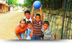 At Futbol for Kids we have a vision... to deliver as many soccer balls to underprivileged kids as possible. No kid should be denied the chance to kick a ball about. It's one of life's most simple pleasures. Futbol for Kids also deliver water filters and solar flashlights. Just began working in Honduras but much more in store!