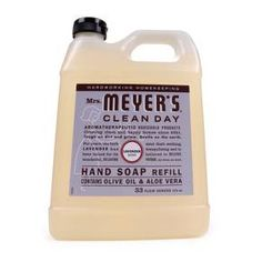 Mrs. Meyer's Clean Day Liquid Hand Soap contains a special recipe of aloe vera gel, olive oil and a unique blend of natural essential oils to create a hard working, non-drying, yet softening cleaner for busy hands. Paraben free. Made in the USA.<br><br>DIRECTIONS FOR USE: Directions Moisten your hands, then add a pump of Mrs. Meyer's Clean Day Liquid Hand Soap. The longer you rub your hands, the cleaner they become.<br><br>USES: Hands, body and bath.