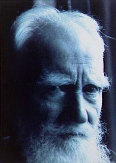 George Bernard Shaw, Londres, 1939. Gisèle Freund.