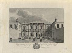 [Vista de la casa de campo de Pedro Carrillo de Albornoz]. Salvador Carmona, Manuel 1734-1820 — Grabado — 1795