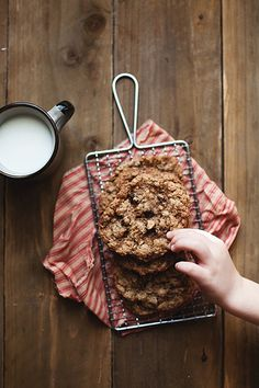oatmeal cookie / Sheena Jibson